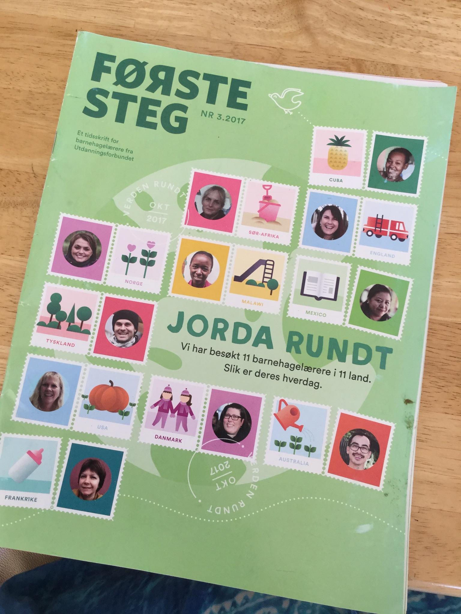 Werk in uitvoering. Artikelen over kinderopvang in China, Portugal en Nederland. Verschijnt in het Noors.