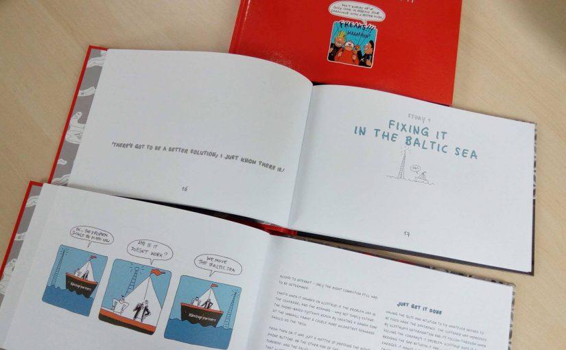 Boekje met succesverhalen over IT-firma Klestrup.