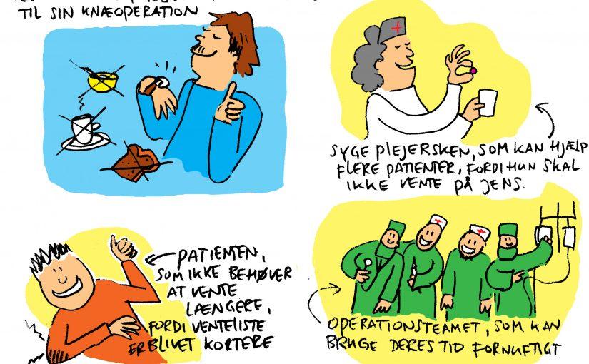 Tegneserie til patient information